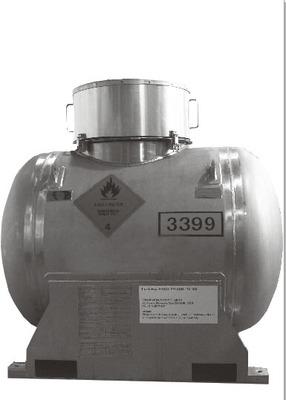 SUS304 1000L已经取得UN移动式罐柜资质